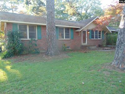 Cayce Single Family Home For Sale: 2522 Stonehenge