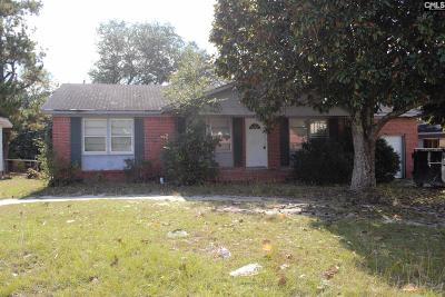 Columbia Single Family Home For Sale: 3504 Traveler