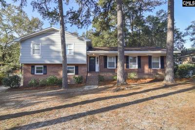 West Columbia Single Family Home For Sale: 2448 Robin Crest