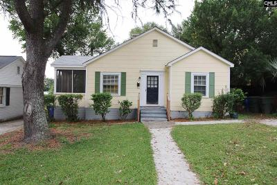 Columbia Single Family Home For Sale: 511 S Edisto