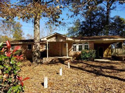 Gadsden Single Family Home For Sale: 845 Congaree Church