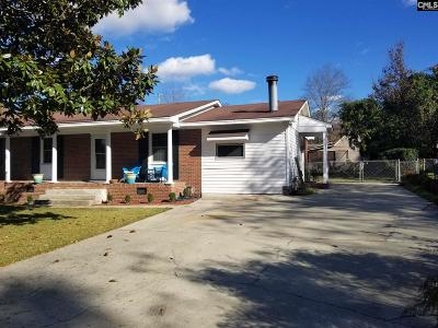 West Columbia Single Family Home For Sale: 2309 Eddine