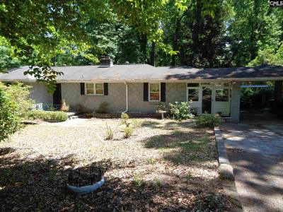 West Columbia Single Family Home For Sale: 1443 Saluda River