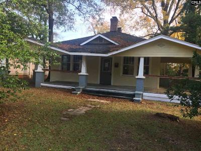 Columbia SC Single Family Home For Sale: $29,900