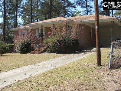 Columbia SC Single Family Home For Sale: $55,900