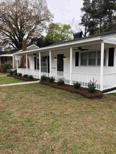 Batesburg, Leesville Single Family Home For Sale: 123 S Pine