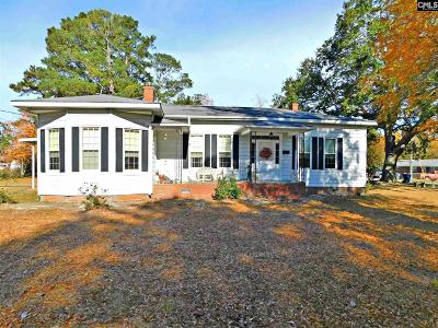 Batesburg SC Single Family Home For Sale: $79,500