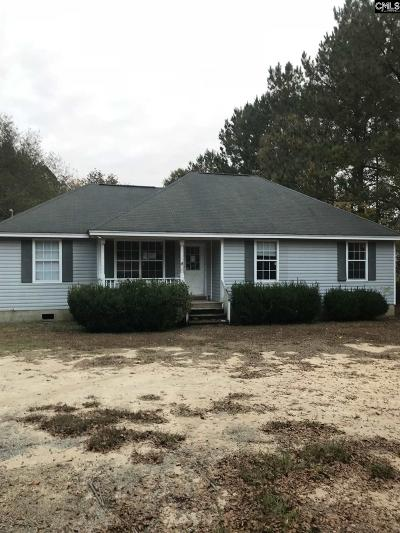 Newberry SC Single Family Home For Sale: $45,000
