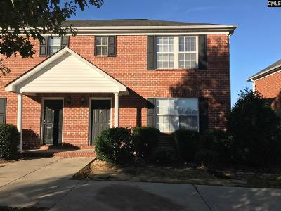 Columbia SC Townhouse For Sale: $103,000