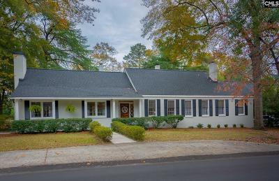 Columbia Single Family Home For Sale: 1420 Hagood