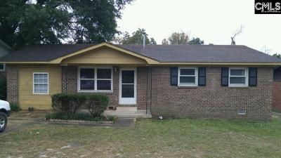 Calhoun County, Fairfield County, Kershaw County, Lexington County, Richland County Single Family Home For Sale: 4111 Delree