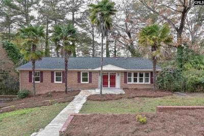 Calhoun County, Fairfield County, Kershaw County, Lexington County, Richland County Single Family Home For Sale: 6033 Robinwood