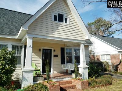 Columbia Single Family Home For Sale: 1105 Edgefield