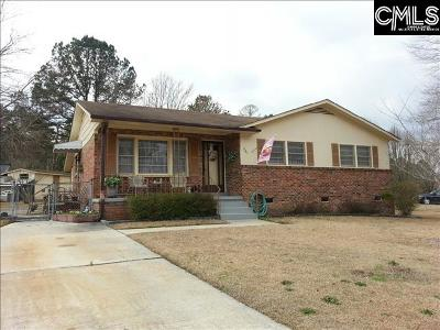 Columbia SC Single Family Home For Sale: $89,000