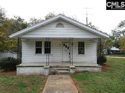 NEWBERRY Single Family Home For Sale: 611 Wardlaw