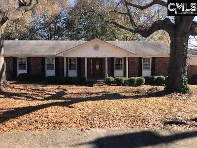 Columbia SC Single Family Home For Sale: $105,000