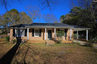Columbia SC Single Family Home For Sale: $119,000