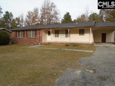 Orangeburg Single Family Home For Sale: 1486 Sifly