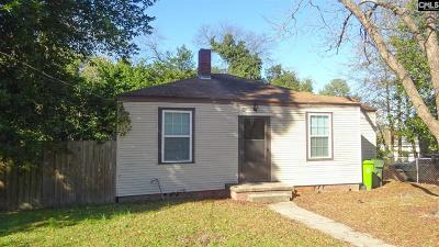 Columbia Single Family Home For Sale: 2809 English
