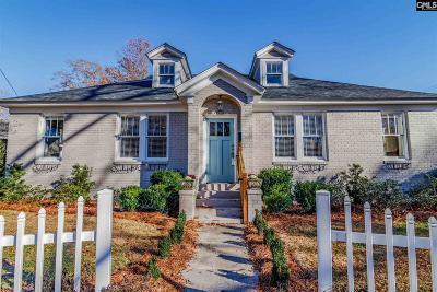 Columbia Single Family Home For Sale: 330 S Ravenel