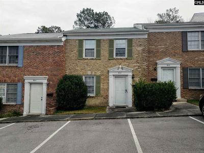 Columbia SC Townhouse For Sale: $45,000