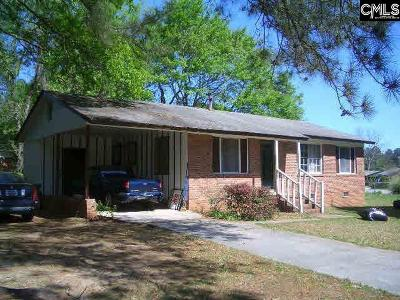 Columbia Single Family Home For Sale: 2927 Dell