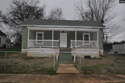 Newberry County Single Family Home For Sale: 38 Wood