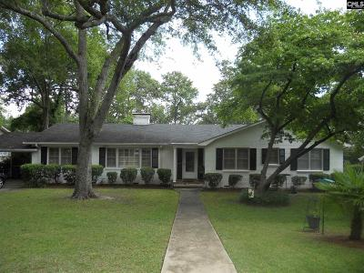 Columbia Single Family Home For Sale: 3119 Kershaw