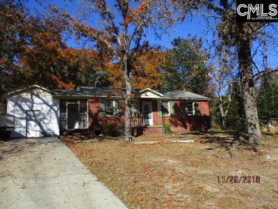 Columbia Single Family Home For Sale: 7205 N Lake Marion