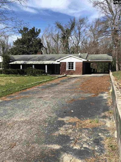 Kershaw SC Single Family Home For Sale: $115,000