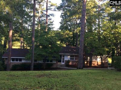 Columbia Single Family Home For Sale: 156 Lake Elizabeth