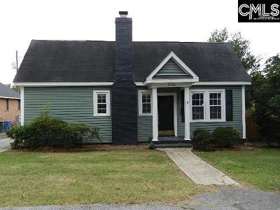 Columbia SC Single Family Home For Sale: $125,500