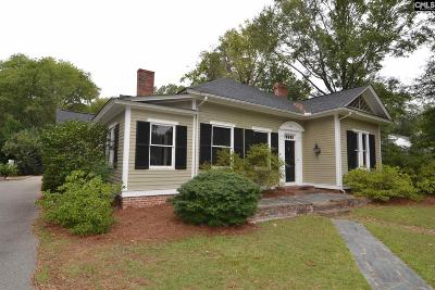 Kershaw County Single Family Home For Sale: 1505 Lyttleton