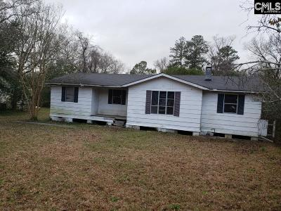 Columbia SC Single Family Home For Sale: $43,500