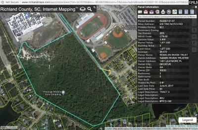 Blythewood, Ridgeway, Winnsboro, Columbia, Elgin, Ballentine, Eastover, Forest Acres, Gadsden, Hopkins Residential Lots & Land For Sale: E/S Two Notch