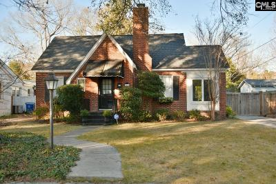 Shandon Single Family Home For Sale: 2621 Kiawah