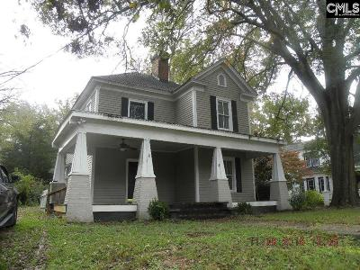 Newberry Single Family Home For Sale: 1606 Harrington
