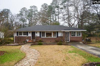 Columbia Single Family Home For Sale: 3441 Hazelhurst