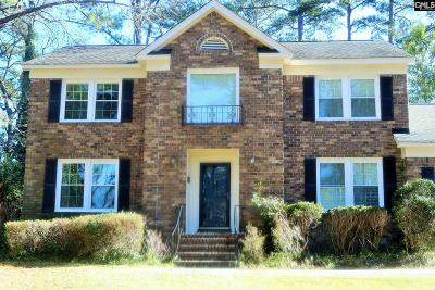 Columbia Single Family Home For Sale: 2240 Greenpines