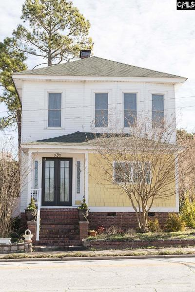 Newberry Single Family Home For Sale: 902 Caldwell