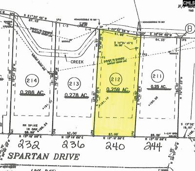 Lexington County, Richland County Residential Lots & Land For Sale: 240 Spartan