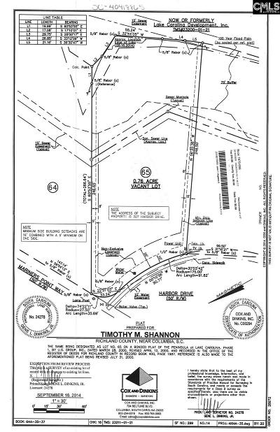 Lexington County, Richland County Residential Lots & Land For Sale: 307 Harbor