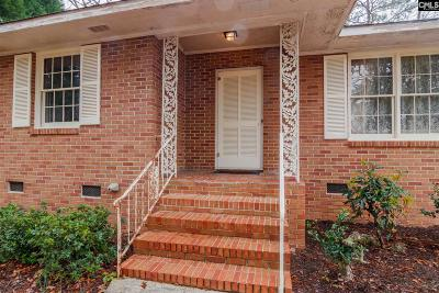 West Columbia Single Family Home For Sale: 2221 Hooklawn