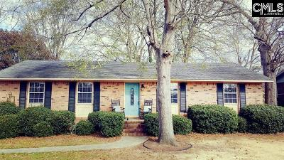 West Columbia Single Family Home For Sale: 1004 Rutland