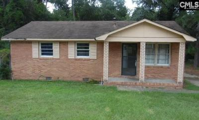 Kershaw County Single Family Home For Sale: 1201 Woodlawn