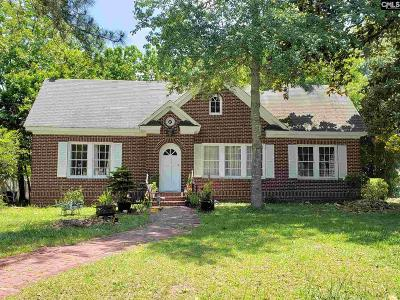 Batesburg Single Family Home For Sale: 102 N Oak