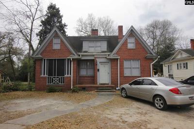 Orangeburg Single Family Home For Sale: 541 Wilson