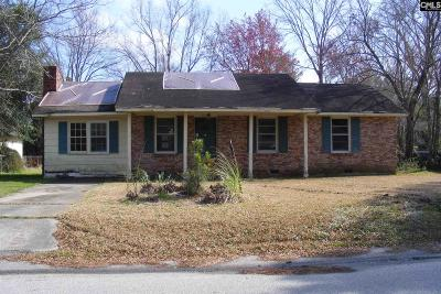 Sumter Single Family Home For Sale: 1062 Robin Hood