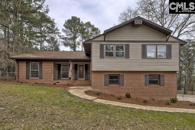 Camden Single Family Home For Sale: 421 Cool Springs