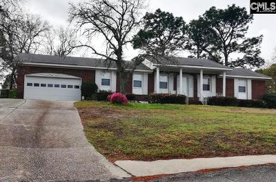 Lexington County, Richland County Single Family Home For Sale: 7818 Hunt Club